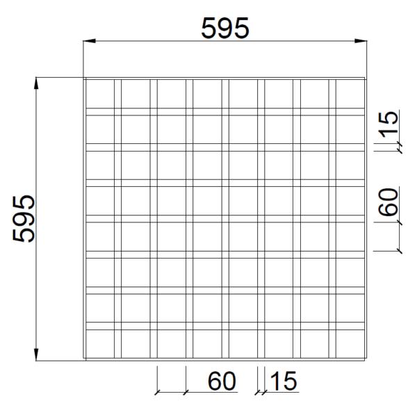 GL15 75x75 griliato